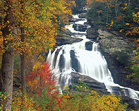 Cullasaja Falls, North Carolina